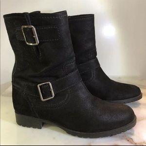 Miu Miu Nubuck Moto Boots